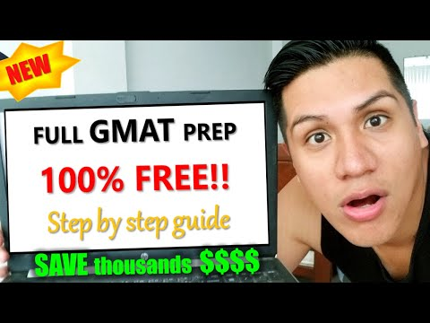 FREE GMAT Preparation Online Course (Theory + Practice) - COMPLETE GUIDE and Study Plan 2021