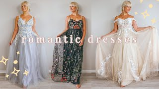 ROMANTIC DRESSES & BALL GOWNS 2020 | JJs HOUSE PROM DRESSES UNBOXING & TRY ON | BUDGET PROM DRESSES