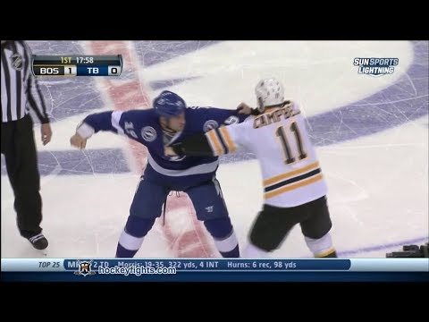 B.J. Crombeen vs. Gregory Campbell