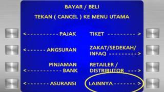 Cara Bayar CEPATnet Via ATM MANDIRI