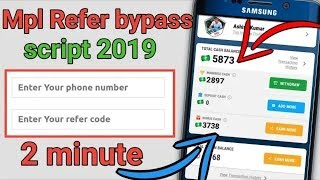 Download Mpl Pro App Otp Bypass Unlimited Refer Use Text Now App