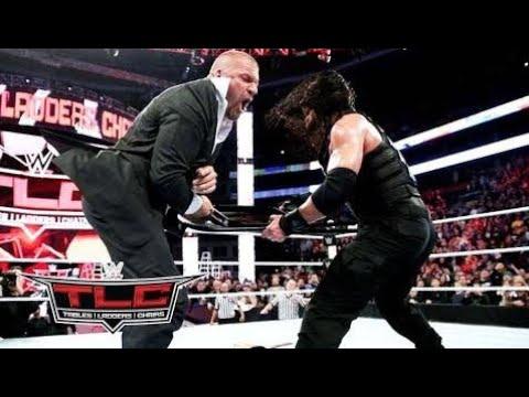 Download WWE Roman Reigns vs Sheamus After Match Roman Reings Destroy Triple H at - TLC HD