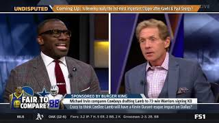 UNDISPUTED | Skip Bayless: Crazy to think CeeDee Lamb will have a Durant-esque impact on DAL