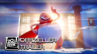 Captain Underpants - Der supertolle erste Film Film Trailer