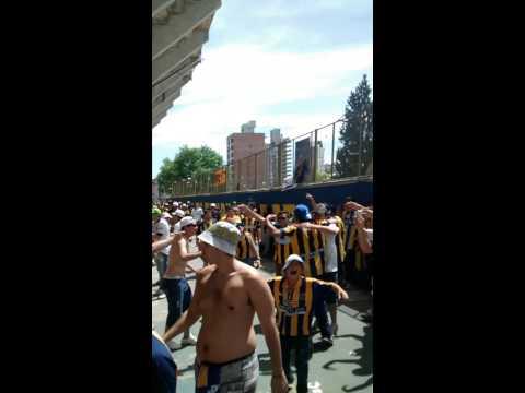 """""""Rosario central clásico 2014-los guerreros"""" Barra: Los Guerreros • Club: Rosario Central"""