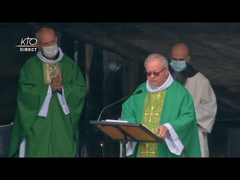 Messe de 10h à Lourdes du 10 juin 2021