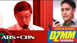 "DZMM TeleRadyo: DOJ, ""No important documents missing after Aguirre exit"""