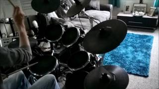 'wuthering heights' drum cover