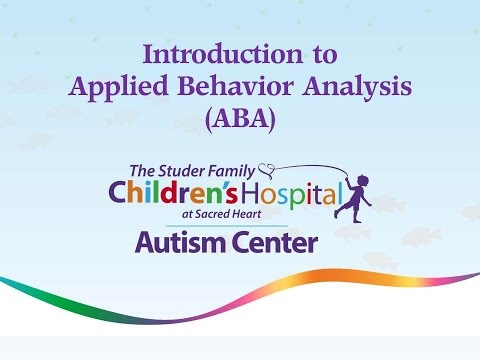 Autism Center: Introduction to Applied Behavior Analysis