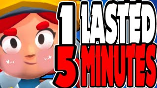 I Lasted 5 Minutes My 1st Time! - Brawl Stars ROBO RUMBLE