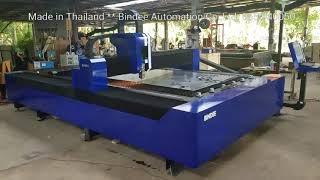 preview picture of video '1,000 watt fiber laser , made in Thailand'