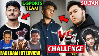 Father loves Dynamo and Total Gaming😍| Lokesh Vs Sultan😎| Raistar dont play CS?🤔| Facecam Interview😃
