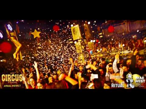 MAE WEST GRANADA - 2015 - CIRCUS - DJ BEE / THE CUBEGUYS (official)