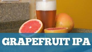 Receita Grapefruit IPA (BIAB)