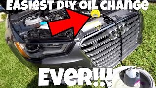 This $20 Gadget makes Oil Changes SUPER EASY (Audi S3 Rebuild)