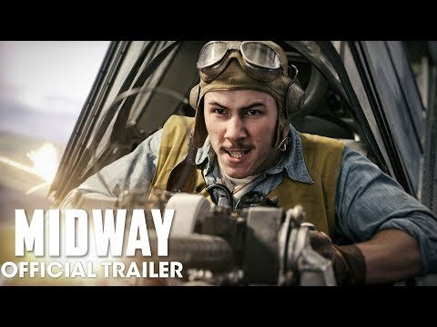 Video trailer för Midway (2019 Movie) New Trailer – Ed Skrein, Mandy Moore, Nick Jonas, Woody Harrelson