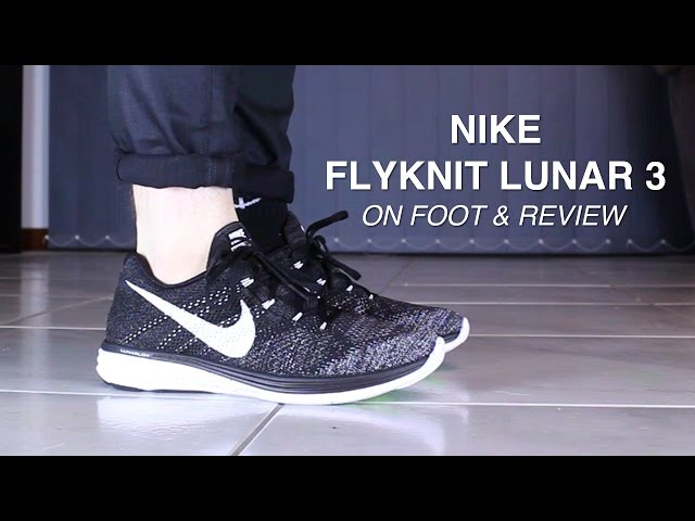 detailed look e240d 577a8 ... Review + On Feet nike flyknit lunar 3 youtube ...