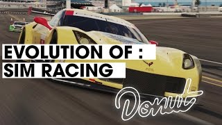 Evolution of Sim Racing | Donut Media