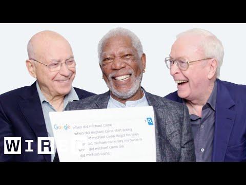 Morgan Freeman, Michael Caine a Alan Arkin odpovídají na nejčastěji vyhledávané dotazy