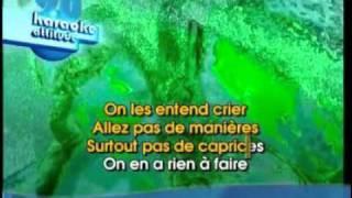 Tomber La Chemise karaoké.wmv