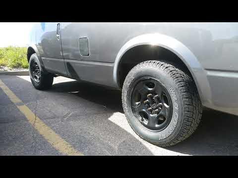 Tire upgrade on Astro Van