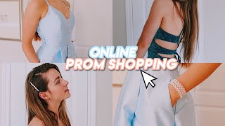 buying my prom dress ONLINE !! (does it work?)