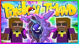 Cloyster  - (Pokémon) - Pixelmon Island SMP - Come Cloyster To Me! (Episode 28 - Minecraft Pokemon Mod)