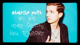 Taylor Swift we are never getting back together (Charlie Puth Cover)