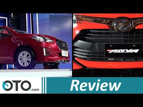 Datsun GO CVT 2018 vs Toyota Agya AT | Review | Pilih Yang mana? | OTO.com