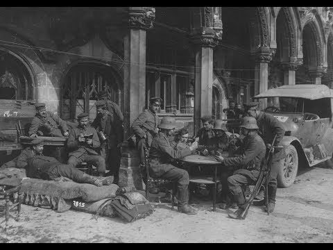 Photos of German Troops in Saint-Quentin During World War 1 (1917-1918)