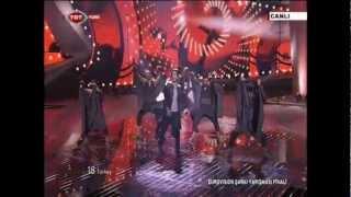 Can Bonomo - Love Me Back HD Final Eurovision Song Contest 2012