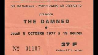 The Damned - Live @ Bataclan Theatre, Paris, France, 10/6/77