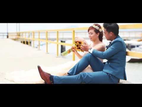 Clip cưới flycam Hồ Cốc bến tàu siêu vui