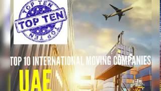 THE BEST INTERNATIONAL MOVING COMPANIES IN UAE