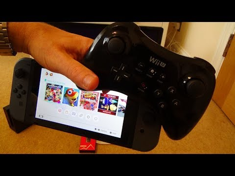 How to Use a Wii U Pro Controller on the Nintendo Switch (Quick Version)