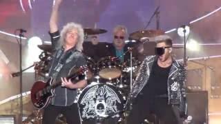 Queen+Adam Lambert: One Vision. European Tour 2016 Tallinn.