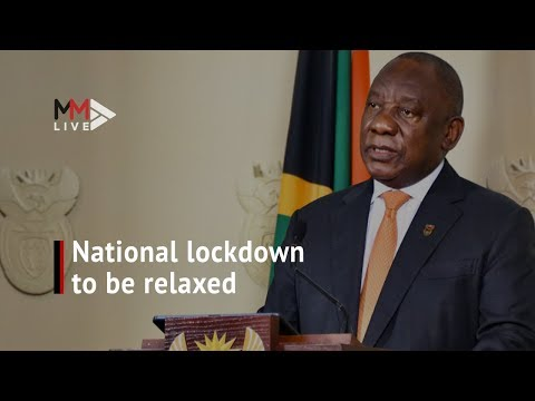 Easing the Covid 19 lockdown Ramaphosa announces phased re opening of SA economy