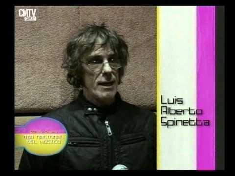 Luis Alberto Spinetta video Monólogo día de la Música  - Especial CM