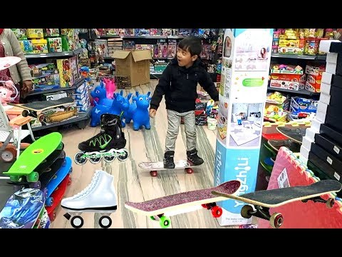 Sam's 6th Birthday Shopping with family at Supermarket ! Kid Playtime !!
