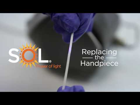 Replacing the Handpiece of the SOL Desktop Laser - Unboxing DenMat