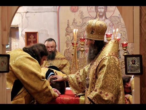 Митрополит Даниил впервые совершил Литургию в Алексиевском храме села Белозерское