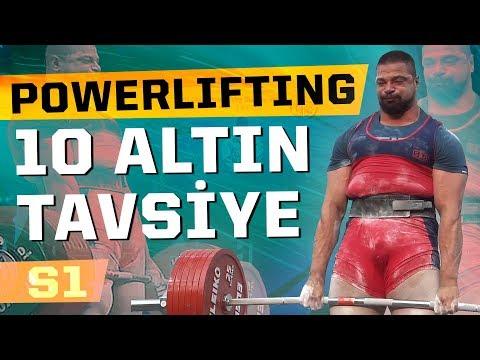 Powerlifting İçin 10 Altın Tavsiyem (IPF Worlds 2019 Tecrübelerim)
