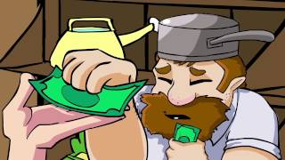 Tobuscus Animated Adventure #8 - World War PvZ