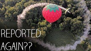 Leaving Smoke Rings Around Hot Air Balloons!!!