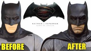 Jakks Pacific Batman v Superman- Batfleck  Makeover- Custom Collectable!