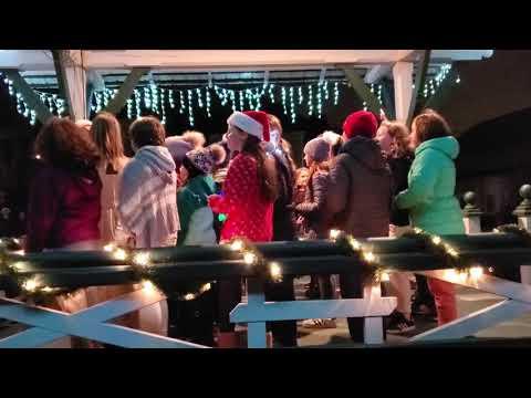 Christmas tree lighting 2019 chorus 1