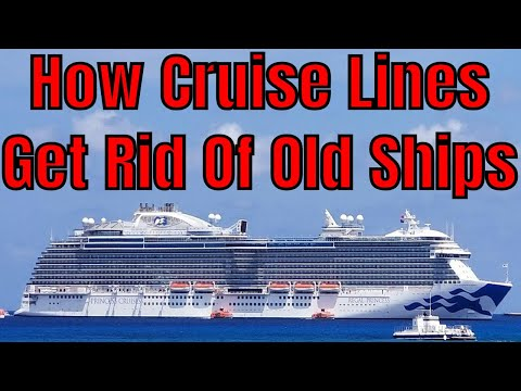How Cruise Lines Promote New Ships And Get Rid Of Old Ships