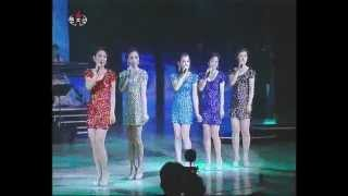 """[Song] """"Let's Learn"""" (Moranbong Band) {DPRK Music}"""