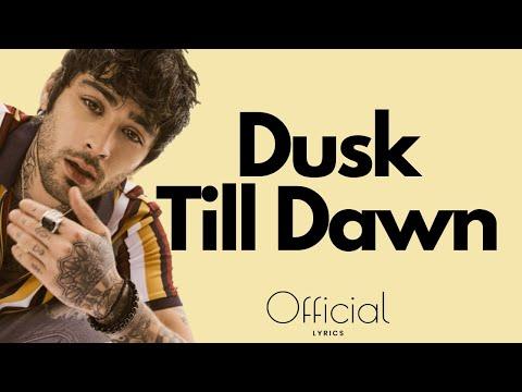 ZAYN ‒ Dusk Till Dawn (Lyrics / Lyrics Video) ft. Sia EXCLUSIVE 2017 (видео)