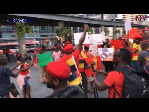 Free Bobi Wine protests held in Canada, Britain and Netherlands